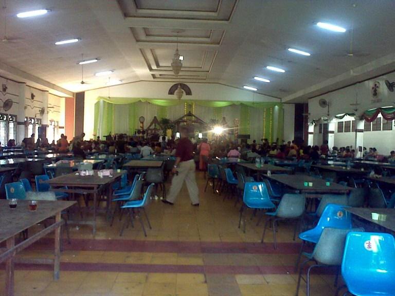 Lantai 1 tempat Pesta Adat