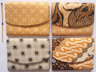Dompet Lipat Batik, Rp 1500/buah