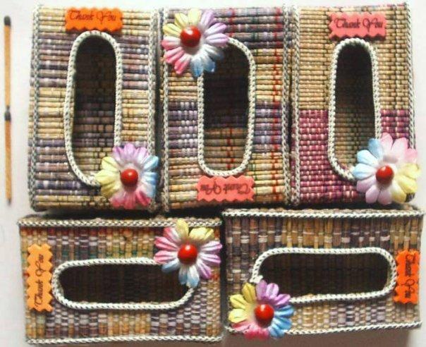 Tempat Tisu Tikar, Rp. 1000/buah