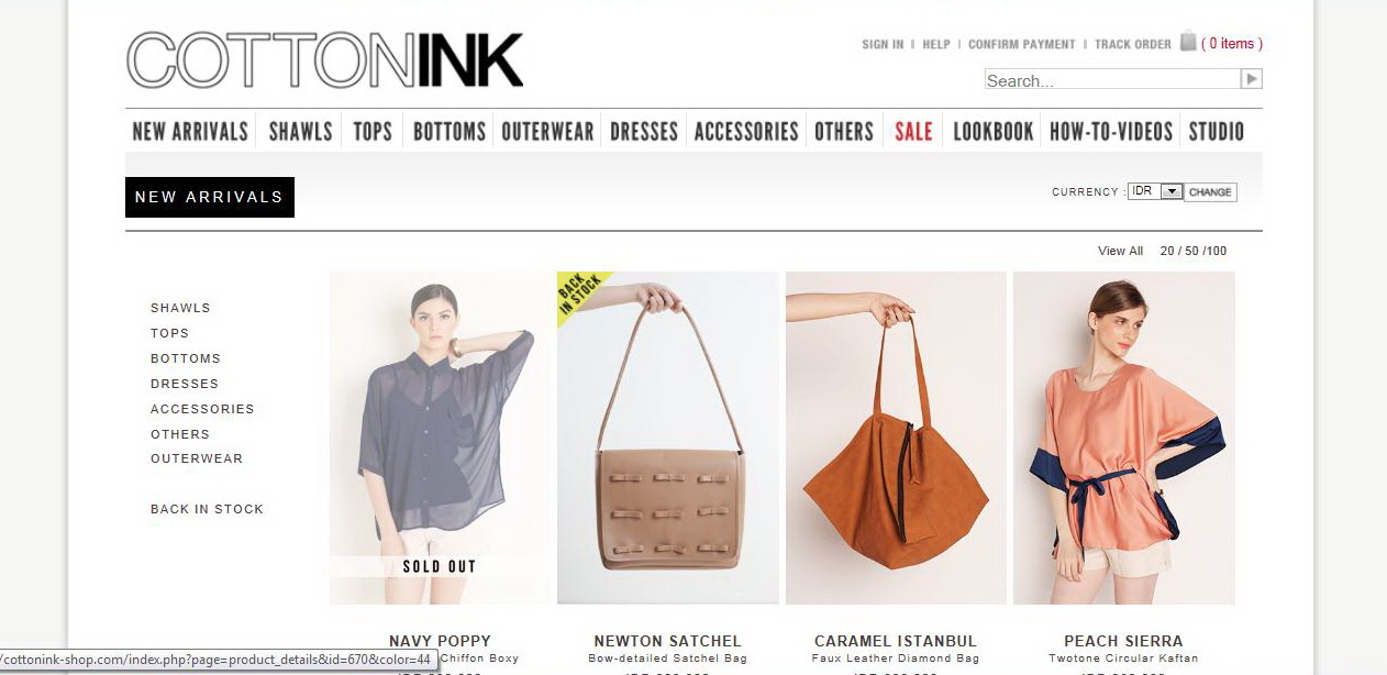 Indonesian fashion online shop 18